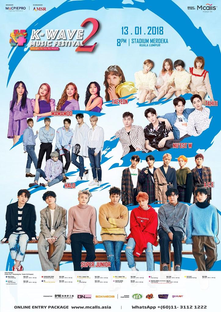 K-Wave2 Poster
