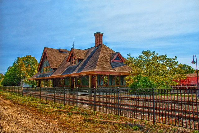 Saranac Lake  - New York - Adirondack Mountains - Union Depot  ~ NRHP  -  Historic