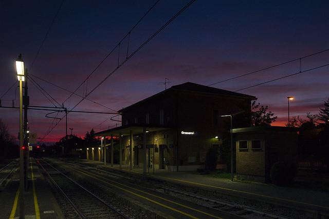Granarolo at sunset
