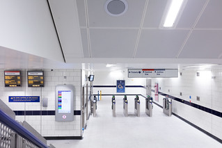 TfL Image - Bond Street - new ticket gate