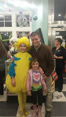 Kayci, Daddy and Flounder from The Little Mermaid play at Collingswood Middle School.