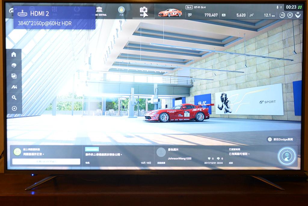 BenQ 55SW700 4K HDR 智慧連網電視機