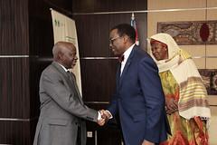 Meeting with H.E. Fatoumata Jallow Tambajang, Vice President of the Republic of The Gambia