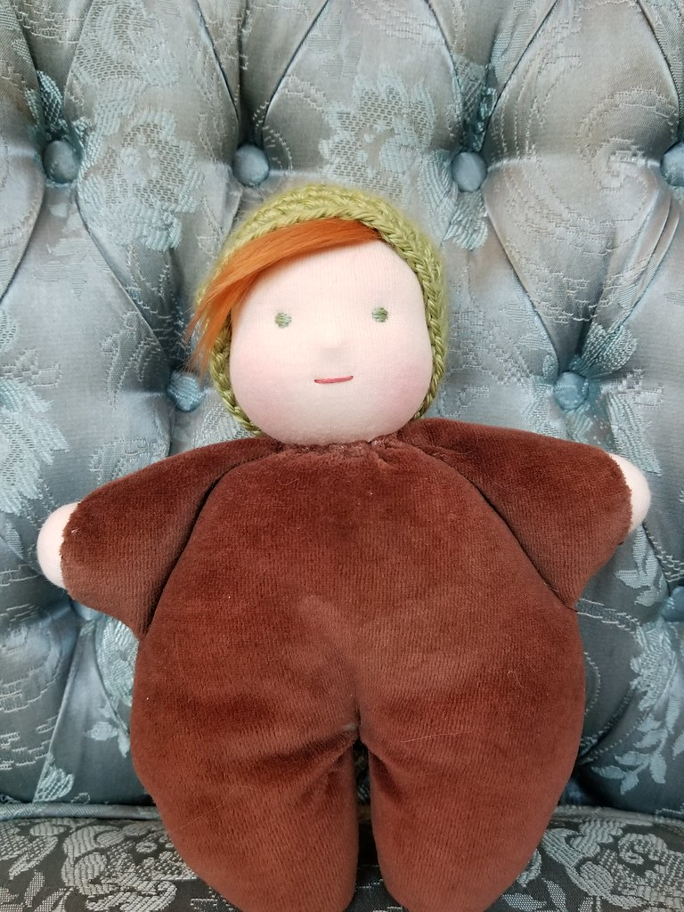 Snuggle Baby #2 - Brown/Green