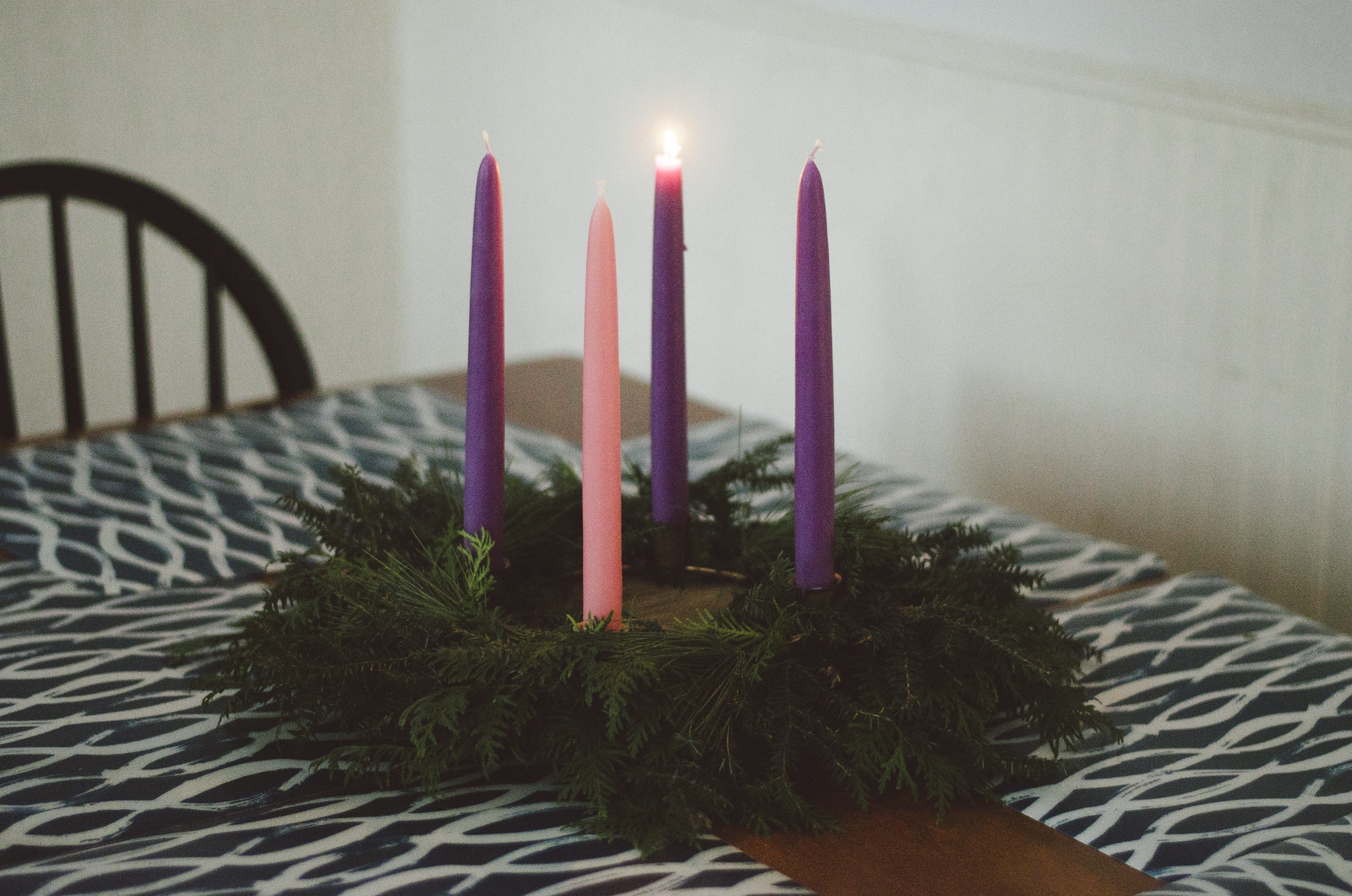 the advent wreath 5