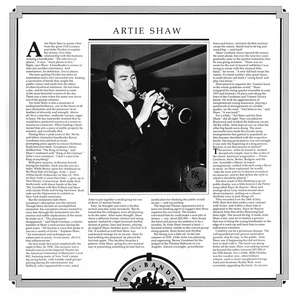 Big Bands - Artie Shaw