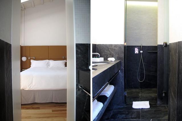 Can Faustino_menorca_hoteles chulos_arquitectura_decoración_mármol negro_habitación