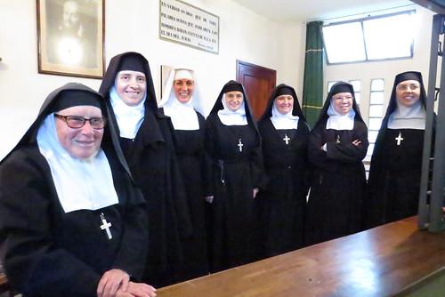 Visita de Gratitud a las Hermanas Salesas...