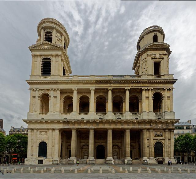 Église Saint-Sulpice, Nikon D5000, Sigma 8-16mm F4.5-5.6 DC HSM