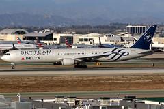 Delta Air Lines | Boeing 767-400ER | N844MH | Skyteam livery | Los Angeles International