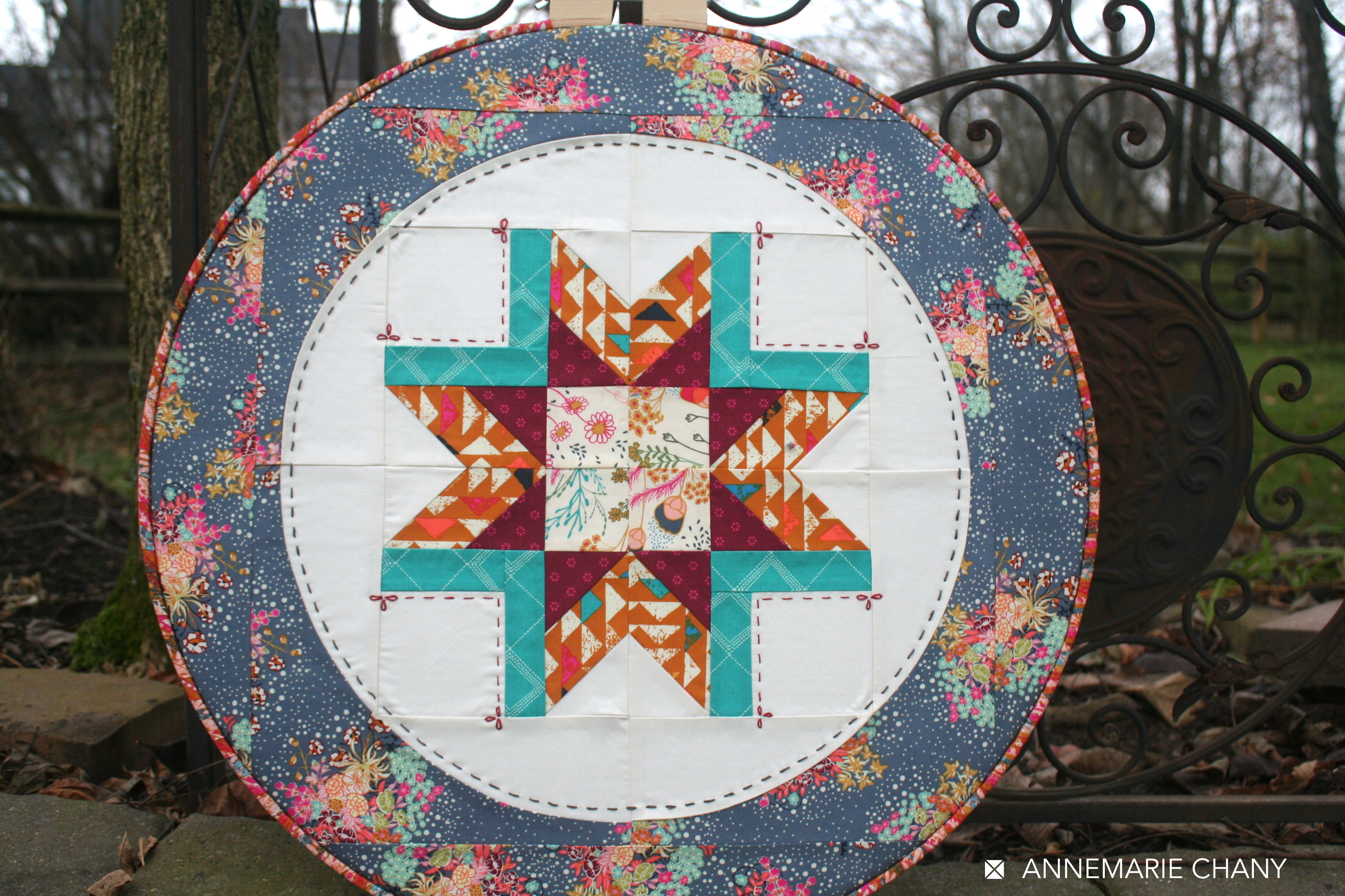 Indie Folk Hoop Quilt 2
