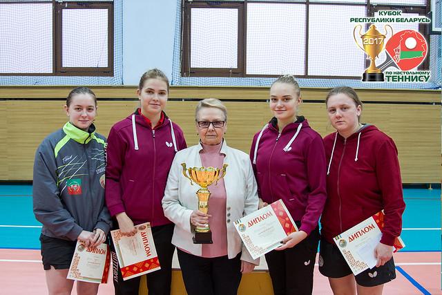 Кубок РБ по настольному теннису