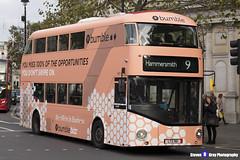 Wrightbus NRM NBFL - LTZ 1161 - LT161 - Bumble - Hammersmith 9 - RATP Group London - London 2017 - Steven Gray - IMG_5885