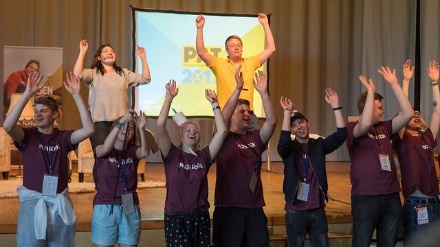Projektauswahltreffen von Schüler Helfen Leben in Berlin