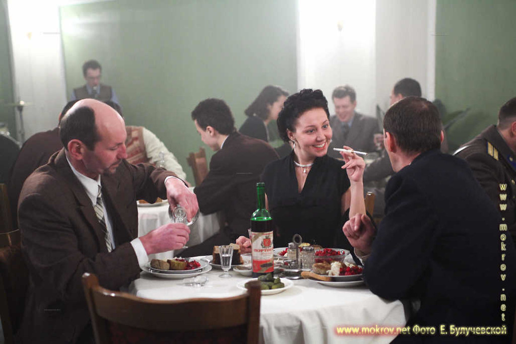 На съемках Художественный фильм «Товарищ Сталин» и фотограф
