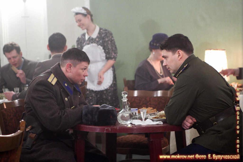 На съемках Художественный фильм «Товарищ Сталин» в Фотоискусстве