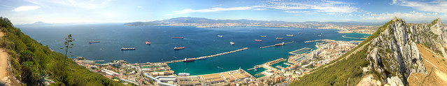 Port of Gibraltar Panorama