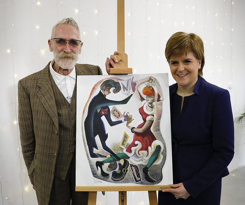 First Minister's Christmas card unveiled