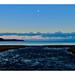 Winter dusk on a Beach. 17