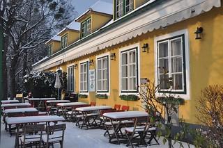 Wien, Winter im Prater, Jägerhaus