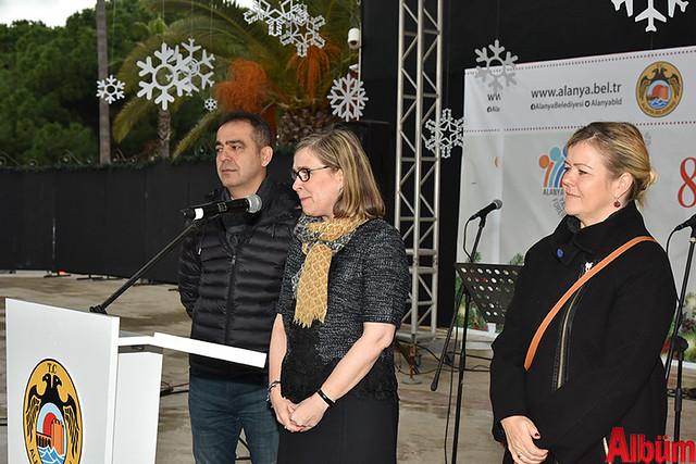 Finlandiya Fahri Konsolosu Kuddusi Müftüoğlu, Finlandiya Ankara Büyükelçisi Paivi Kiaramo, Paulina Müftüoğlu