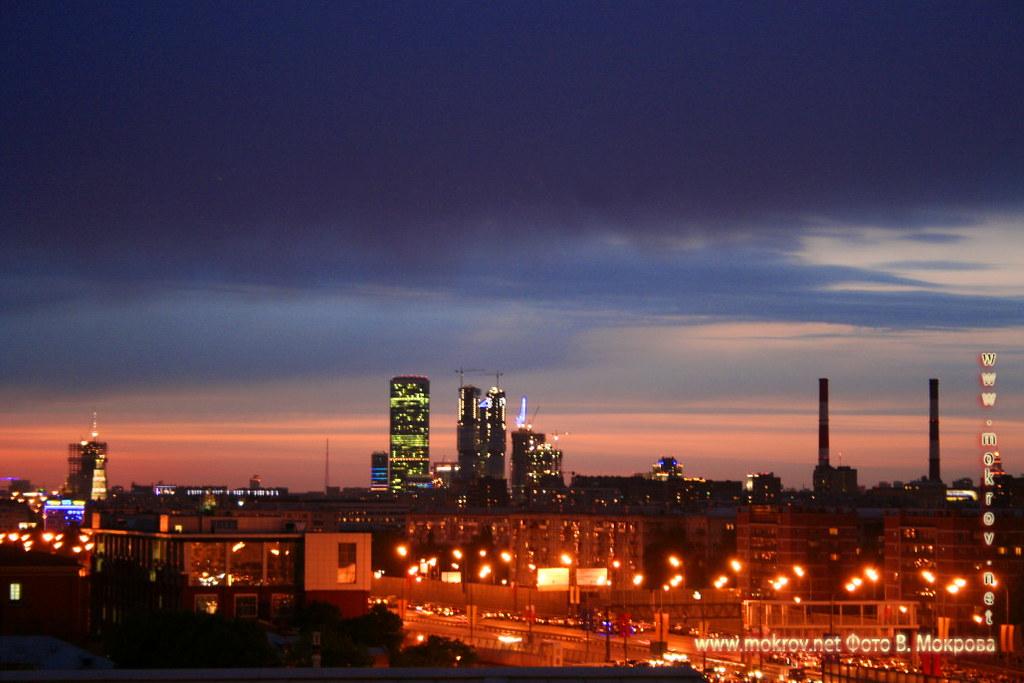 «Москва-Сити»  Московский международный деловой центр.