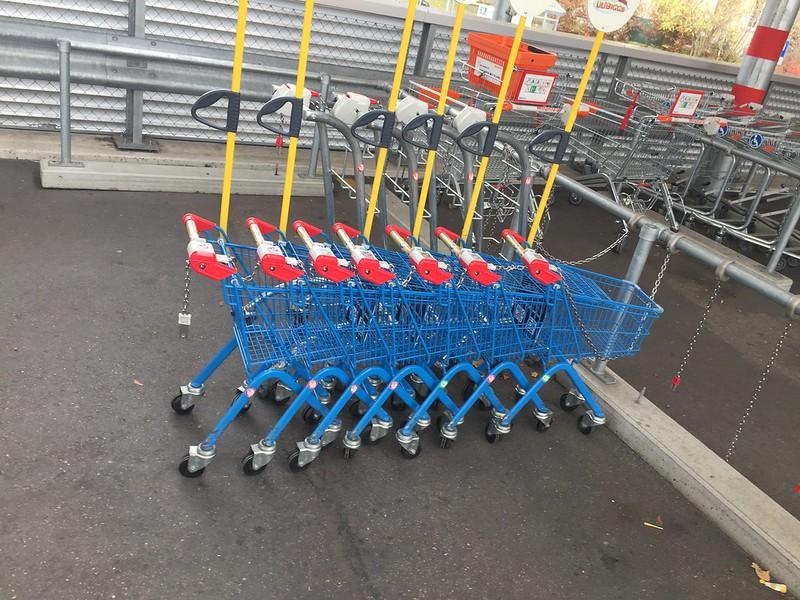 Children superarket trolleys