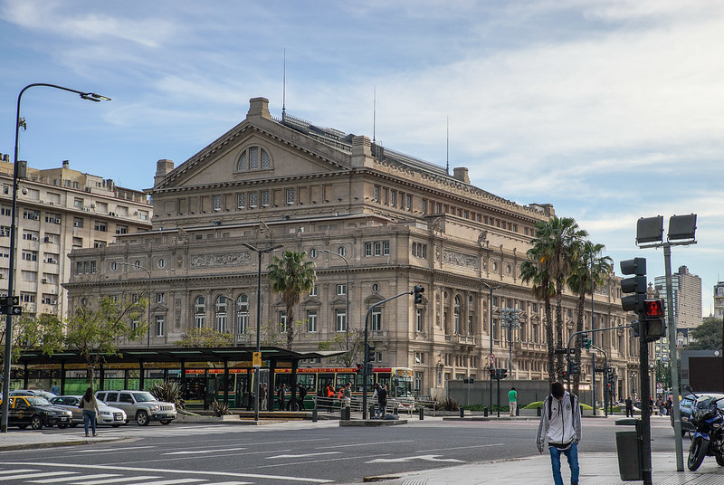 Teatro Colón Main Opera House Buenos Aires Argentina Argentiina  oopperatalo