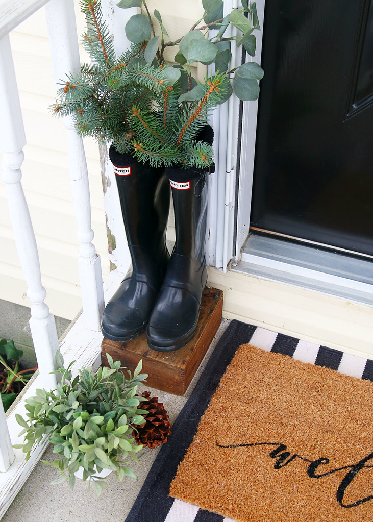 Decorate Hunter Boots