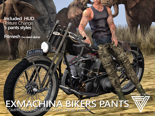 EXMACHINA BIKERS PANTS AD