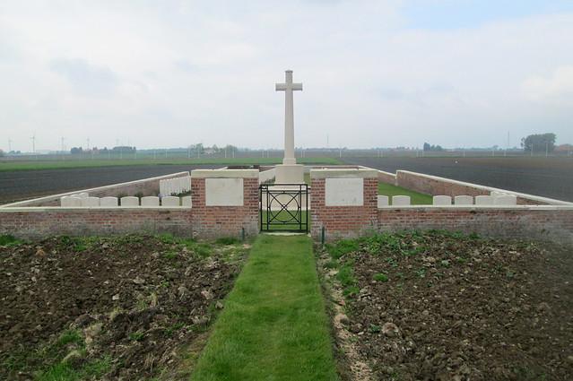 Wietje Farm Cemetery, Flanders, Belgium