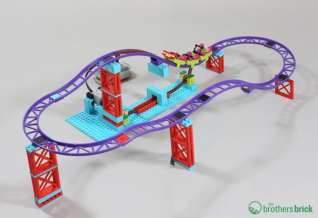 Rollercoaster Concept setup