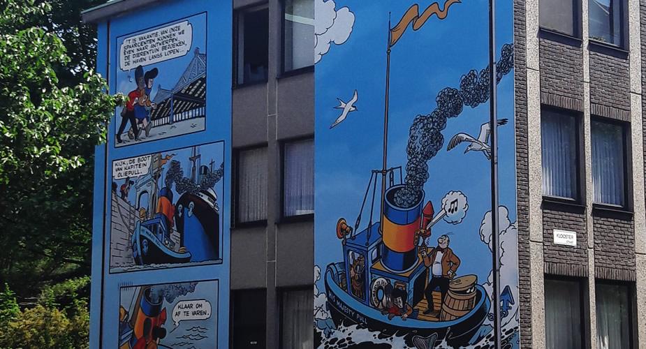 Stripmuren in Antwerpen | Mooistestedentrips.nl