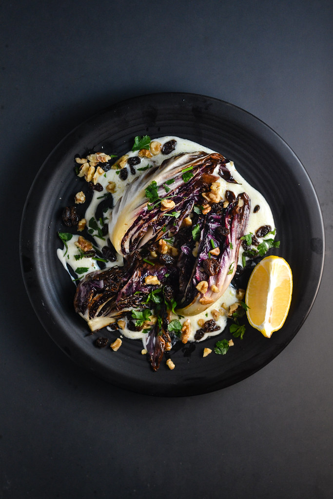 Charred Radicchio with Yogurt Sauce | Things I Made Today