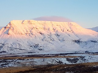 Snow covered hill