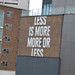 Less is More. Mores is Less - back of Concord House from Marshall Street, Birmingham