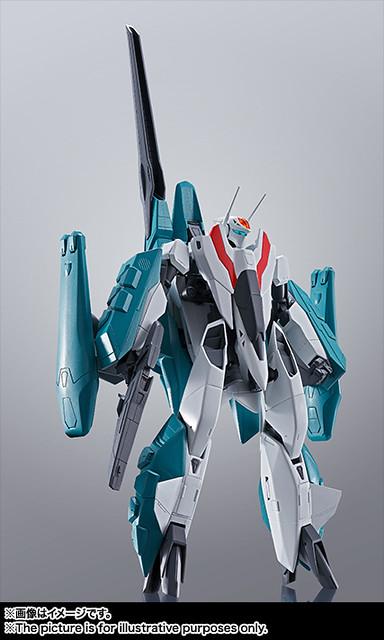 HI-METAL R 《超時空要塞II~LOVERS AGAIN~》武神機II +SAP(西爾维·吉納機)!VF-2SS バルキリーII +SAP(シルビー・ジーナ機)