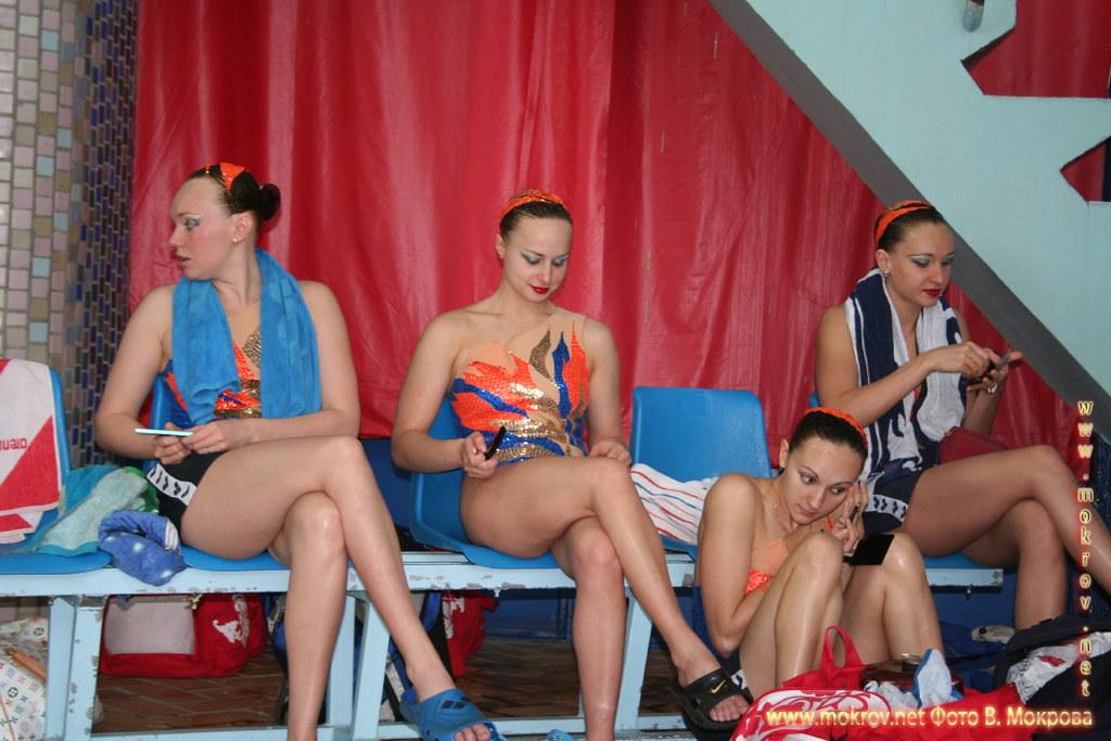 Сборная команда России по синхронному плаванию фотозарисовки