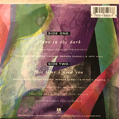 BRENDA RUSSELL:PIANO IN THE DARK(JACKET B)
