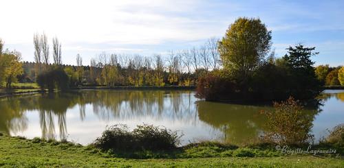 Reflets d'un soir d'automne