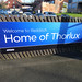 Redditch Station - sign - Welcome to Redditch - Home of Thorlux