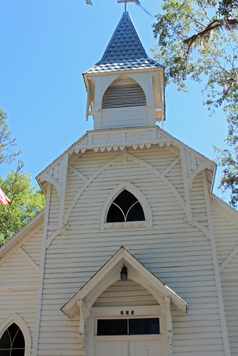 architecture church methodist steeple carpentergothic bronson florida