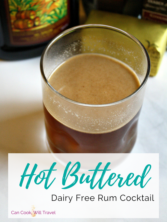 Hot Buttered Rum Cocktail