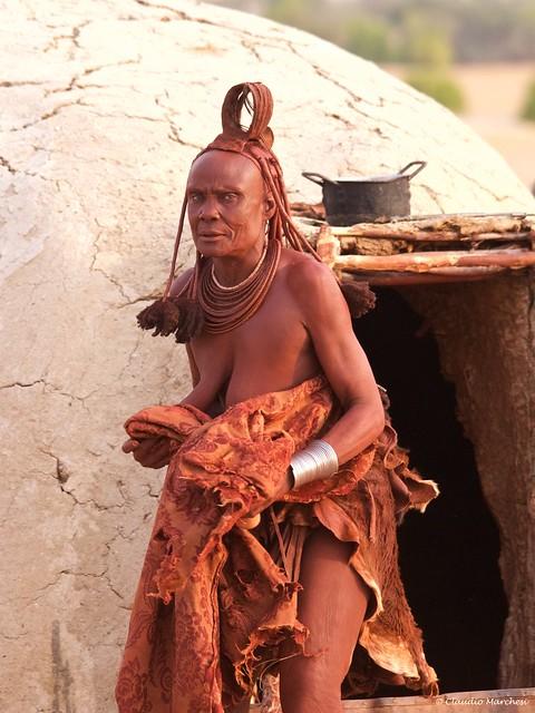 IMGP1607 Blue eyes Himba Woman