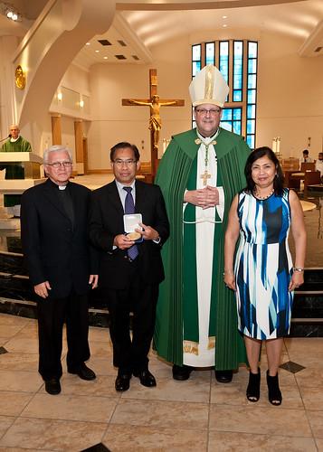 2017 St. Jude Medal Award Prayer Ceremony