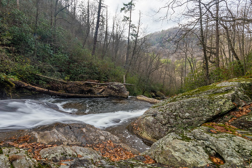 cullasaja river nc northcarolina western waterfall december scadin
