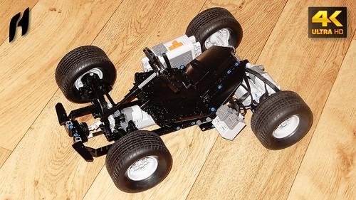 Lego Technic Race Kart (MOC - 4K)