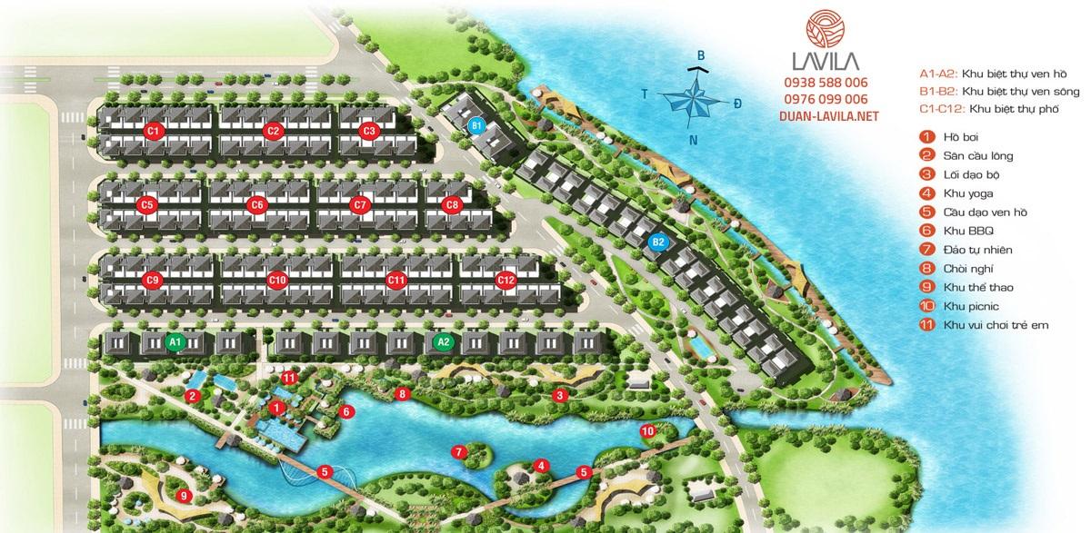 Tiện ích trong dự án Lavila của Kiến Á tại Nam Sài Gòn.