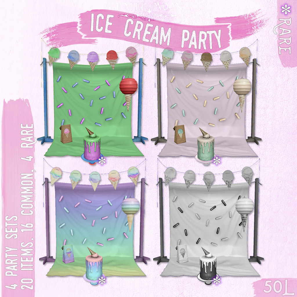 *pm* Ice Cream Party gacha key