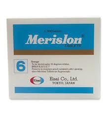 MERISLON 6MG TAB